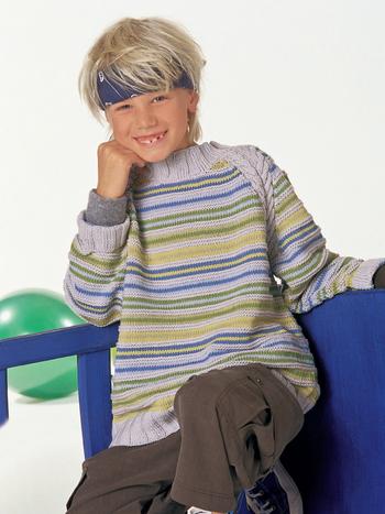 Детский Пуловер Реглан Доставка